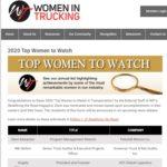 Top Women To Watch